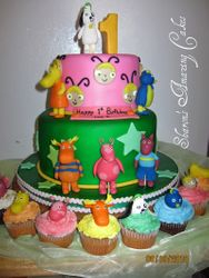 CAKE 31A2- Discovery Kids Cake & Cupcakes