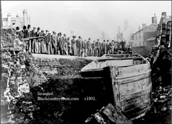 Canal Leak. c1901