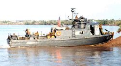 US. NAVY Swift Boat.