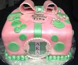 Aka Sorority Cake