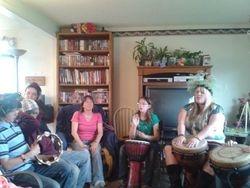 Beltaine Drumming Circle 2012