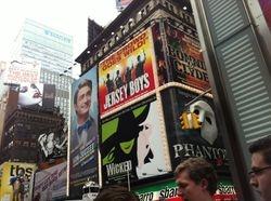Broadway bill boards