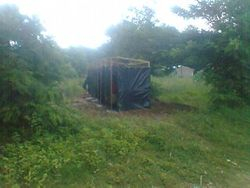 Toilet at Mchere Site
