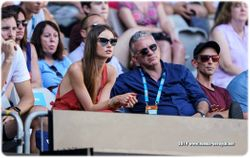 Tomas Berdych's wife, Ester Satorova