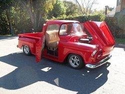 4. 57 Chevy streetrod pickup.
