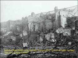 Bomb Damage. 1941.