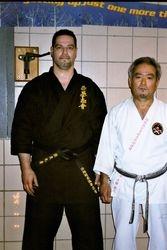 Kyoshi Morales with Hanshi Ota