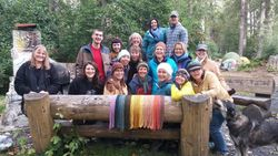Dye Workshop participants