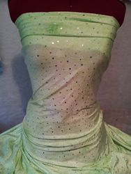 Lime green and silver 571#