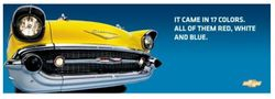 Yellow Chevy Ad