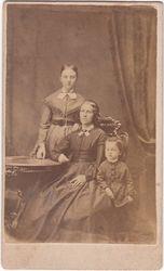 Elizabeth Davis, Robert A. Davis and their mother