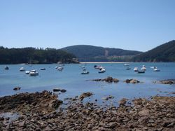 The anchorage at Cedeira