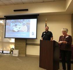 February 2020 Speaker: Ryan Erwin with Folsom Parks and Rec. Senior activities Dept.