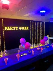 Private Glow Room Party