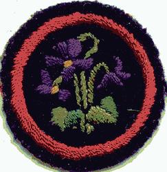 Violet Patrol Badge