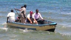 Taxi on Lake Malawi