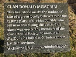 Clan Donald Memorial