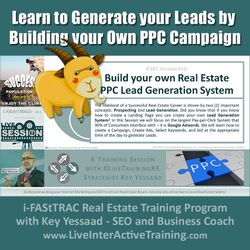Learn to Generate your Leads by Building your Own PPC Campaign - iF201-12 Aug 2019 - #LiveTrainingRE