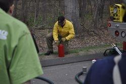 Junior Corp Brush Fire Training. May 3, 2014