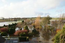 Carmichael Mill Flood 2011