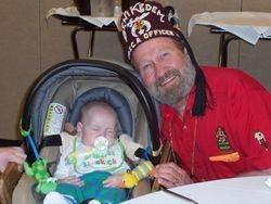 2nd VP and grandson Alec