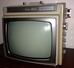 Curtis Mathes TV Portable Television 10M070