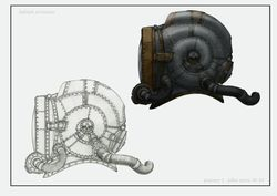 deep diving helmet