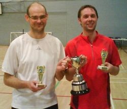Handicap Tournament Mens Doubles Winners