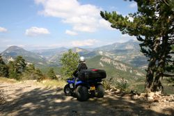 Dans les collines de la Drôme