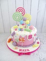 Candy themed Birthday Cake