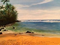 Ke'e Beach on Kauai