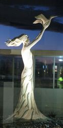 Goddess of Flight, Nelson Airport