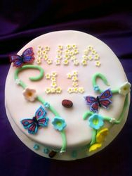 buterfly birthday cake Gluten Free
