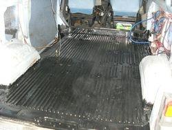 Van floor, Paint it Black