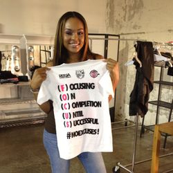Demetria McKinney Supports Foundation FOCUS!