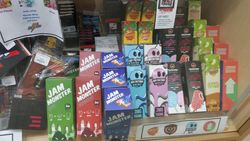 JAM MONSTER, AIR HEAD, MEGA, SWEET SHACK