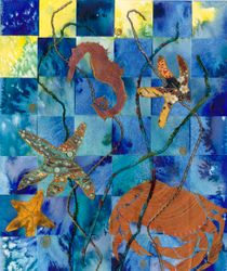 COLLAGE Woven sealife