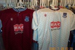 1989/90 home and away Bukta