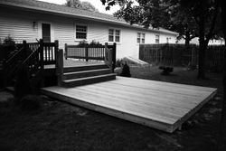 Debra and Shannon's Deck Addition