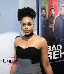 Demetria McKinney attends 'Bad Dad Rehab' Atlanta screening at Midtown Art Cinema Theatre