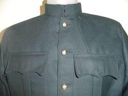 Rifle green tunic