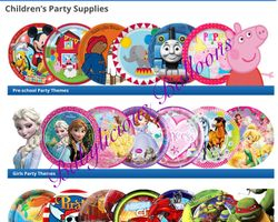 Party Characters  For All