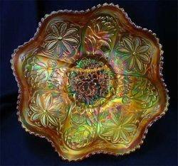 Waterlily ftd ruffled master berry bowl, marigold