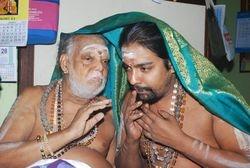 sri maha mrithunjaya moola manthra upadesam from guru sri DR.T.R.VISWANATHA GURUKKAL TO T.R.V SUNDARAMURTHY GURUKKAL