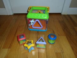 Fisher Price Discovery Blocks Shape Sorter with Music - $15