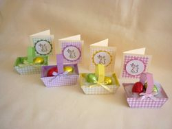 Easter Baskets and Mini Cards