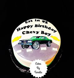 """A Chevy Boy""""s cakes"""