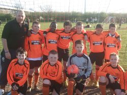 Angels Intermediate League and Cup Winners 09-10