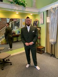 Custom made Suit by the Russian Tailor