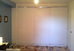 Built-in Closet - sliding doors
